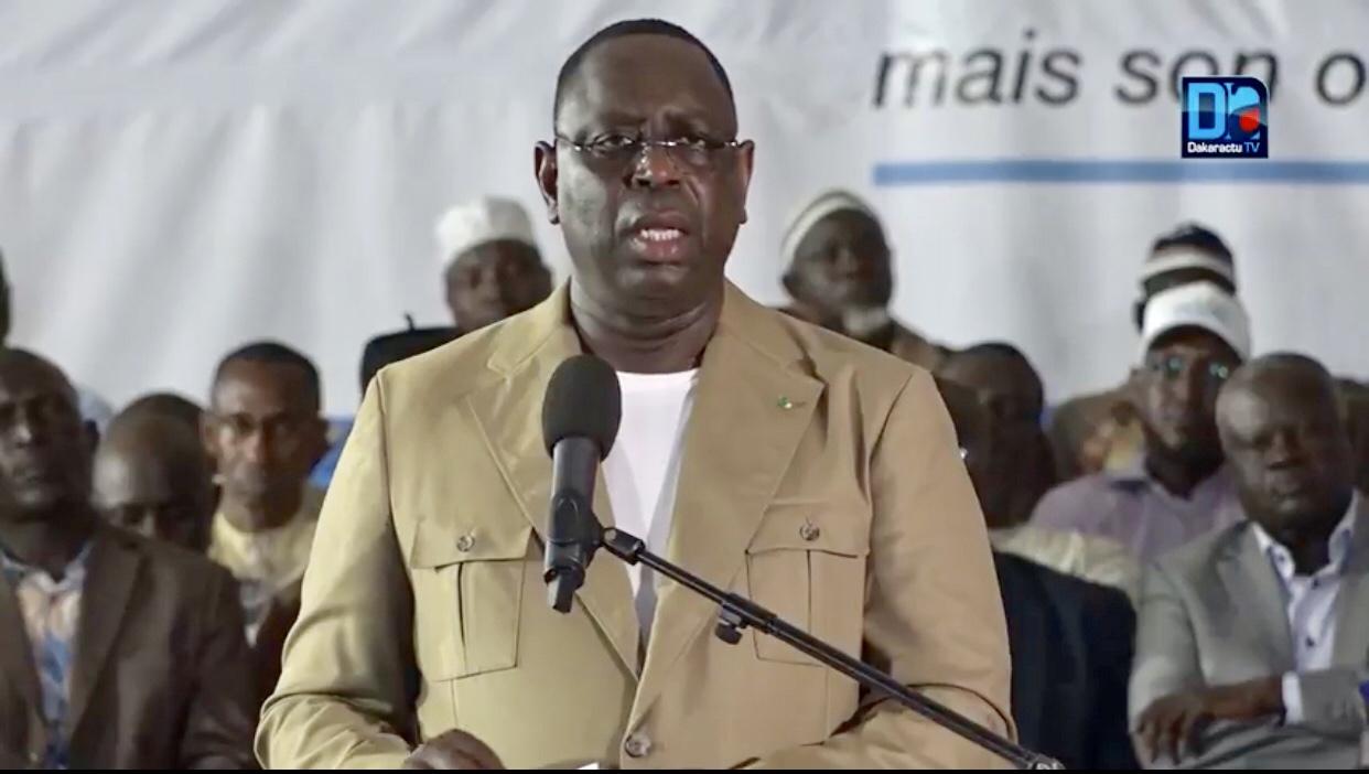 Le président Macky Sall fâché contre les responsables de Mbour...