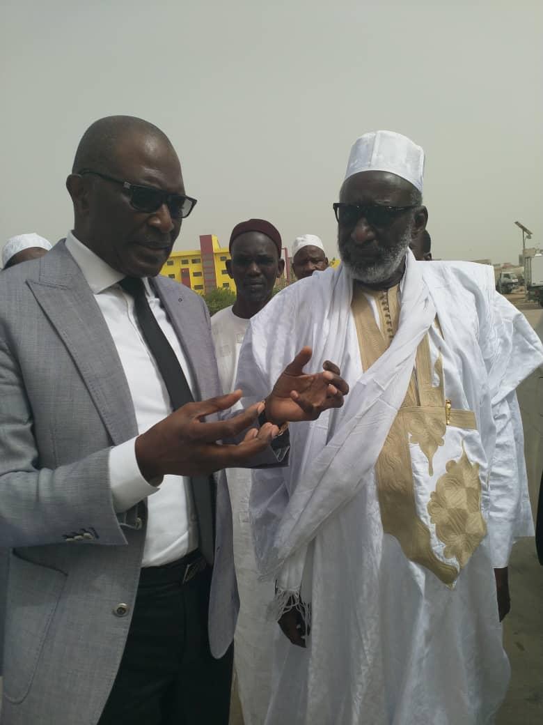 Visite du Khalife Thierno Madani Tall à la SEDIMA : «  Vous avez dignement magnifié l'œuvre de Serigne Ahmadou Bamba »