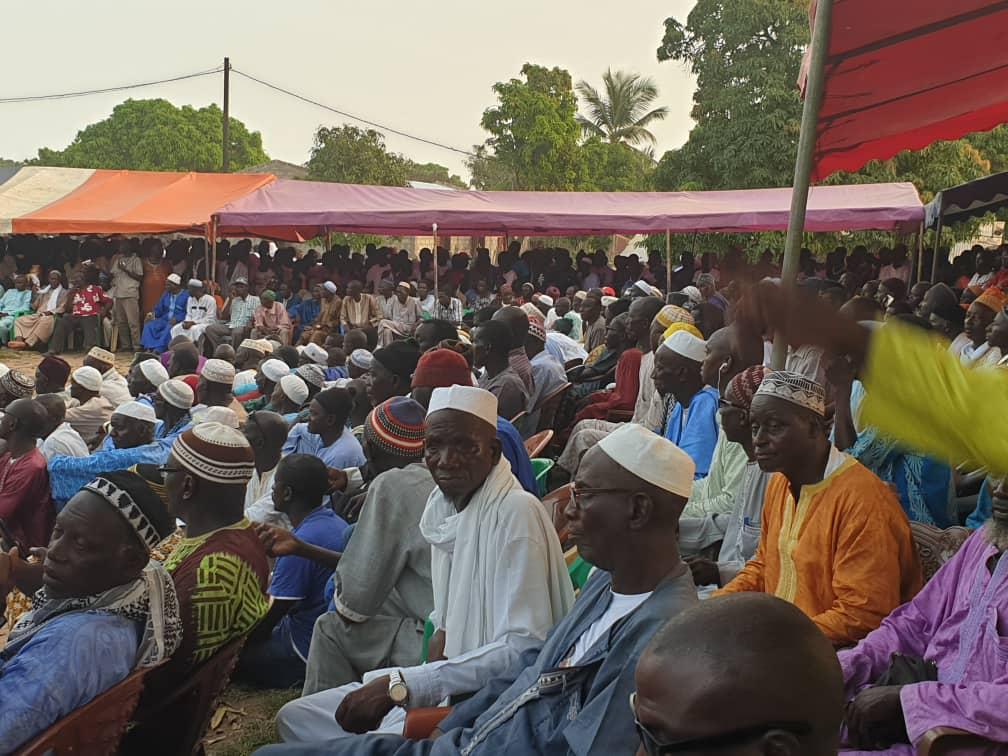 Décès de Malamine Gomis : Abdou Mbow représente l'assemblée nationale et délivre le message du Président Niasse