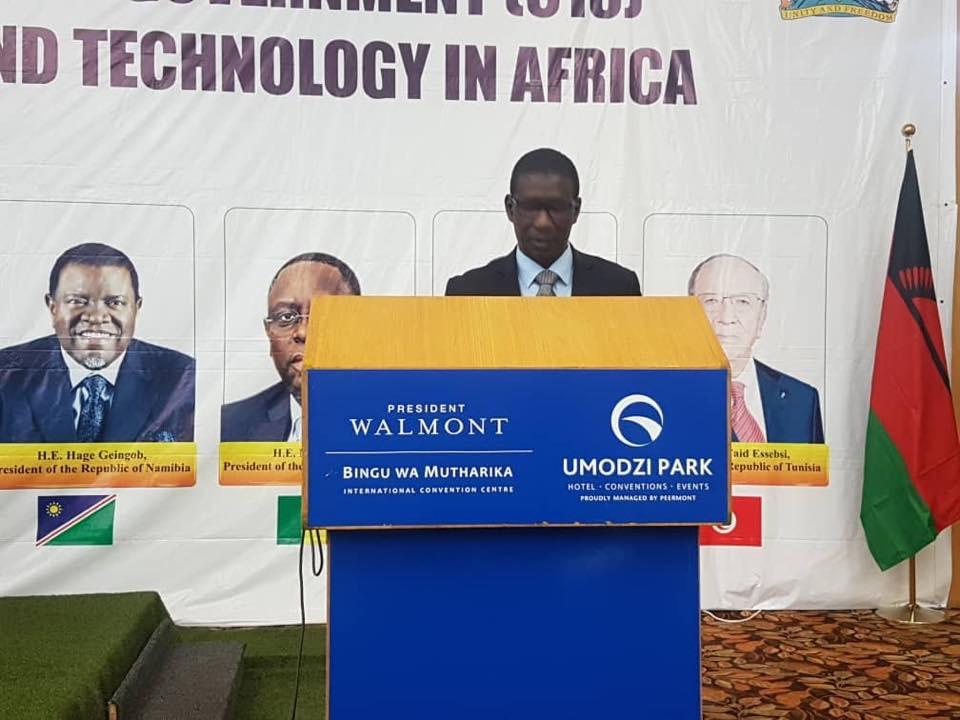 Premier Sommet extraordinaire du Comité des dix Chefs d'Etats et de Gouvernement pour la promotion de l'Education, de la Science  et de la Technologie en Afrique : Intervention du ministre Mary Teuw Niane