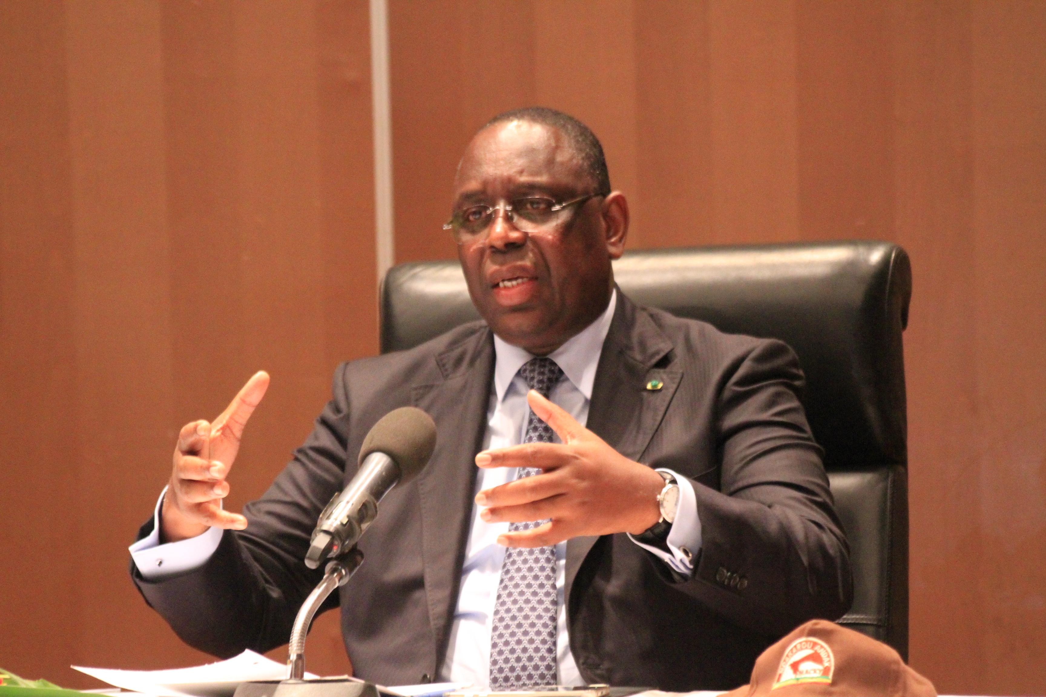 Présidentielle 2019 : Macky convoque son état-major