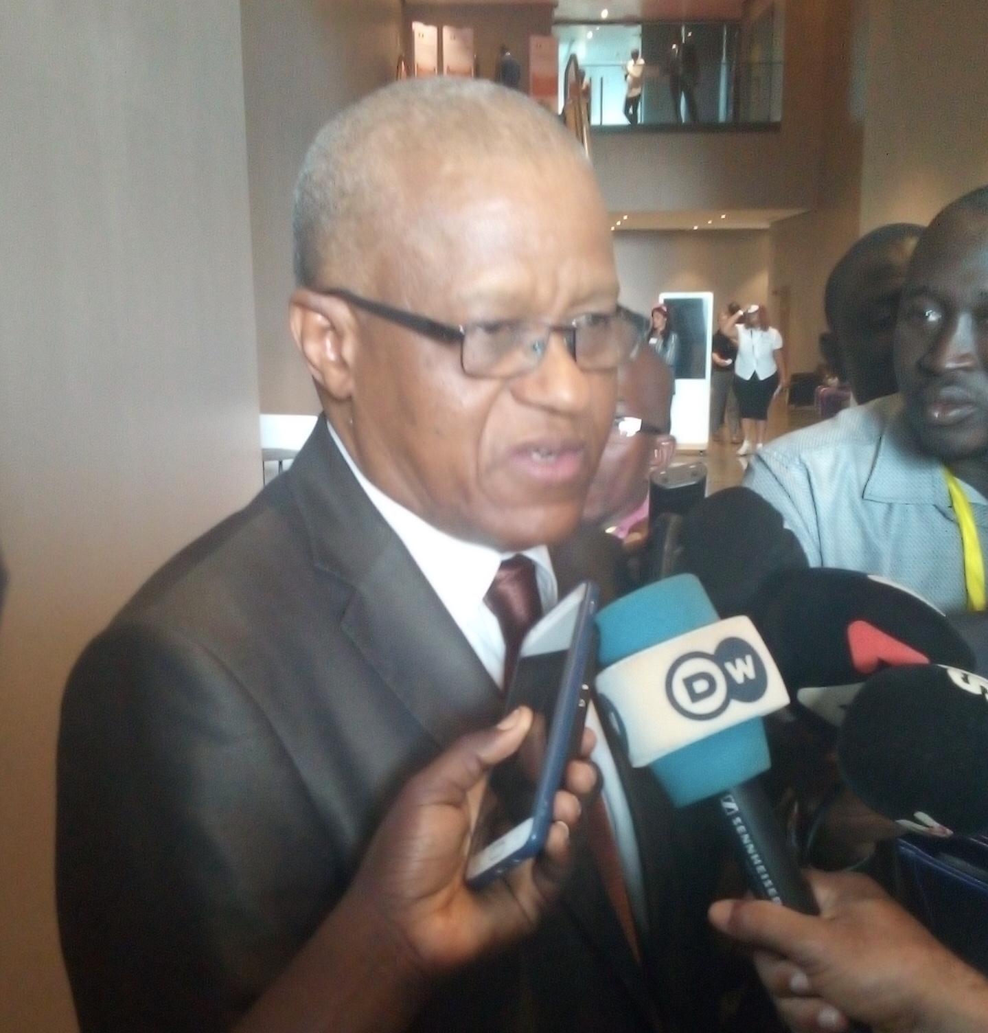 """Maman Sambo Sidikou, Secrétaire permanent du G5 Sahel : """"Il n'y a pas de concurrence entre le G5 Sahel et le Forum de Dakar"""""""