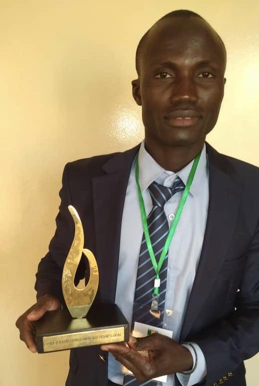 Leadership local sur la gouvernance territoriale : Ibrahima Diédhiou 2stv reçoit le prix excellence