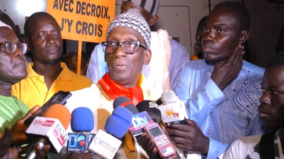 MAMADOU DIOP DECROIX À TOUBA - «Vous ne pouvez pas changer le Sénégal si vous avez des leaders qui mentent, qui volent, qui sont corrompus, qui n'ont pas le sens du patriotisme»