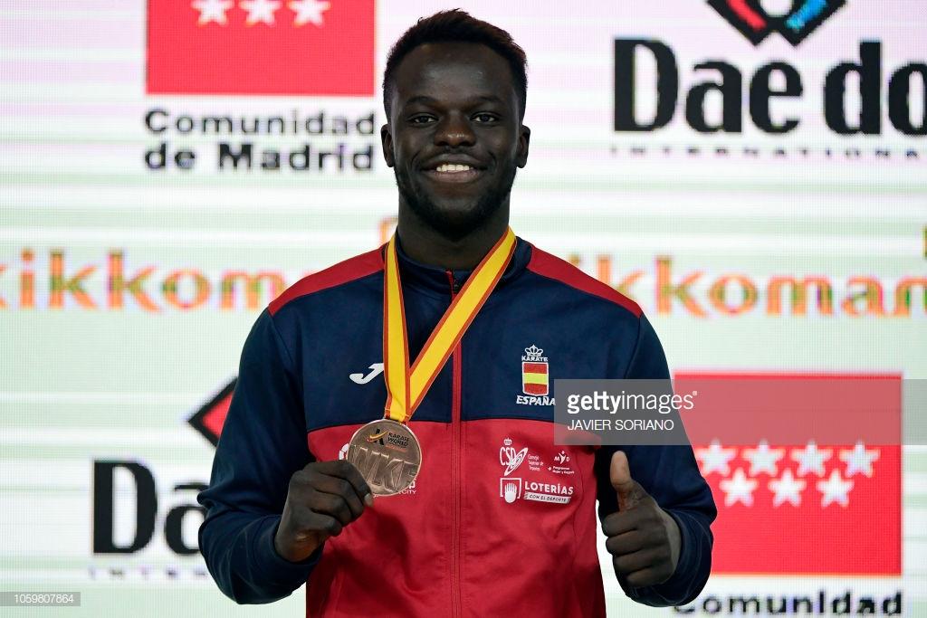 Championnats du monde de Karaté : Babacar Seck Sakho (Espagne) remporte la médaille de bronze
