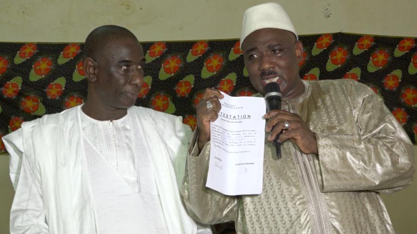 Parrainage : Le département de Matam met 82.740 signatures sur la table de Macky Sall