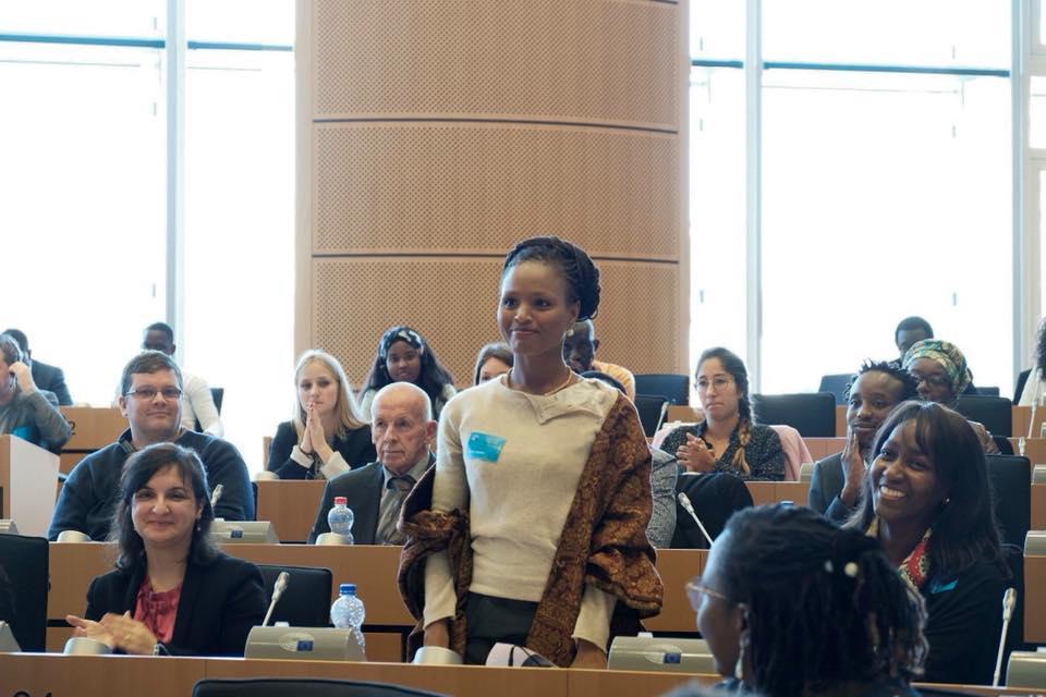 Talents de la Diaspora africaine d'Europe : Me Nafissatou Tine, fille d'Alioune Tine, primée au Parlement Européen à Bruxelles