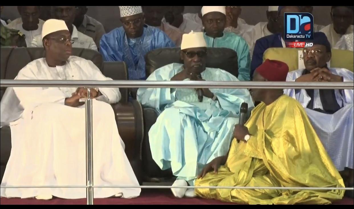 """Le Khalife Général des Tidianes à Macky Sall : """"Tu te comportes comme un vrai chef"""""""