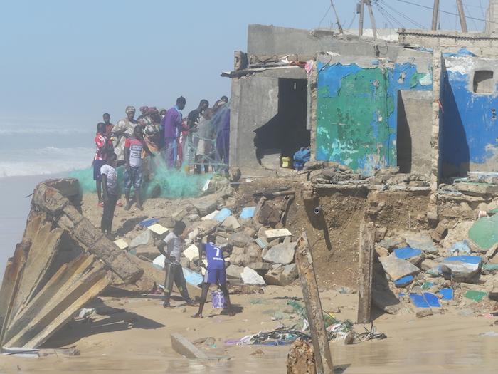 Raz-de-Marée à Ndar-Toute dans la Langue de Barbarie : Les populations sollicitent le soutien des pouvoirs publics