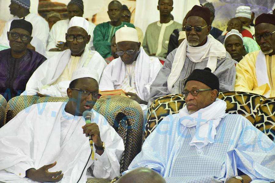 Les images de la célébration du Maouloud à la Mosquée Massalikoul Djinane