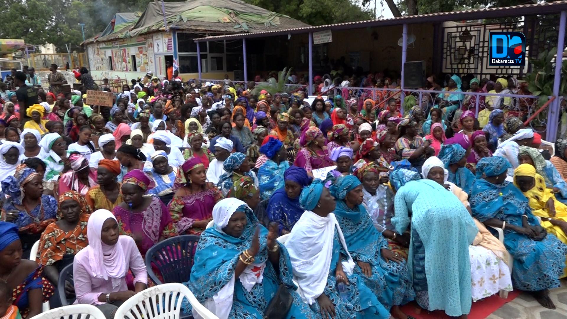 Les images du meeting Sargal de Habib Niang à Thiès