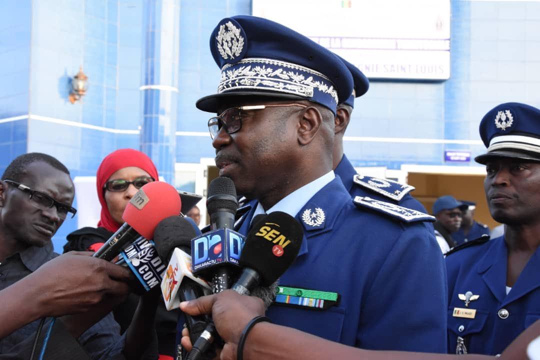 Éléments de langage sur la visite de travail du Haut commandant de la gendarmerie nationale à la Légion nord