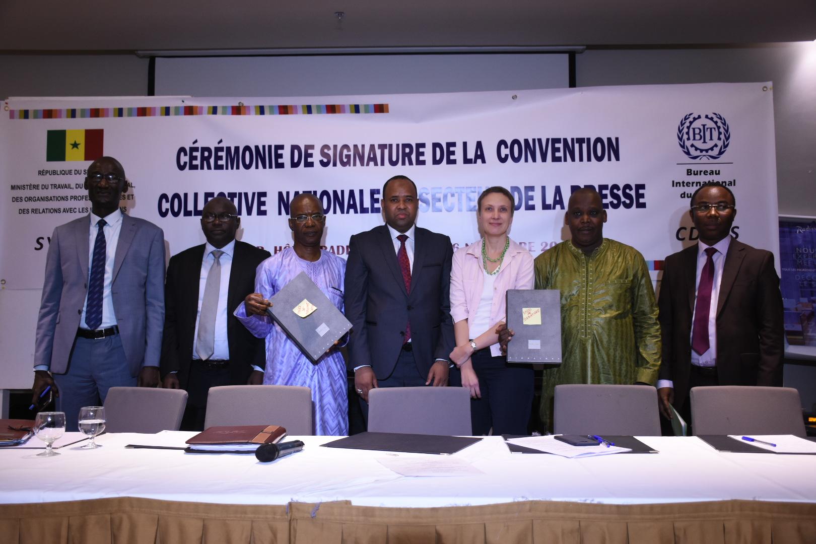 Nouvelle convention collective du secteur de presse : elle sera appliquée dans un délai d'un an (Mamadou Ibra Kane, Président CDEPS)