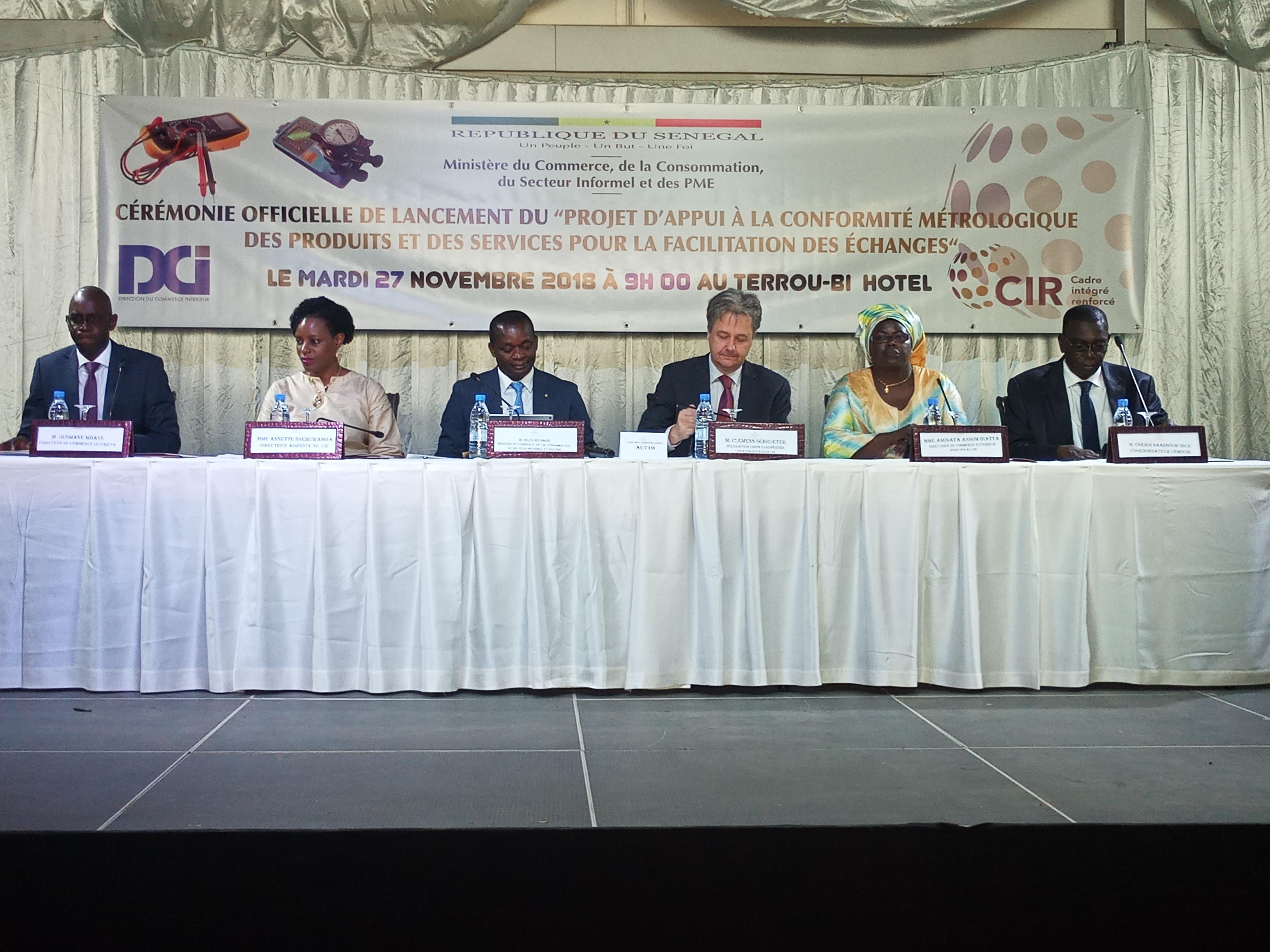 Commerce : le Sénégal mise 1,4 milliards F Cfa pour pénétrer le marché international