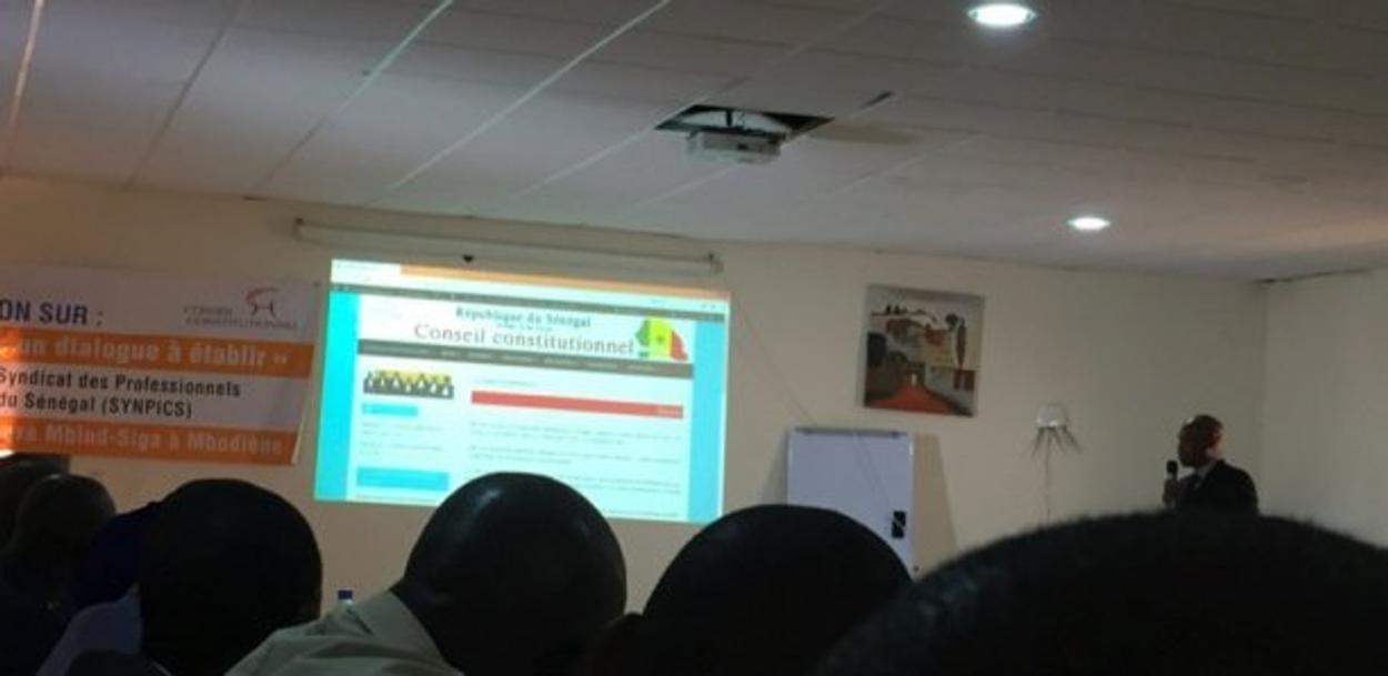 Ntic : Un nouveau site internet pour le Conseil constitutionnel du Sénégal