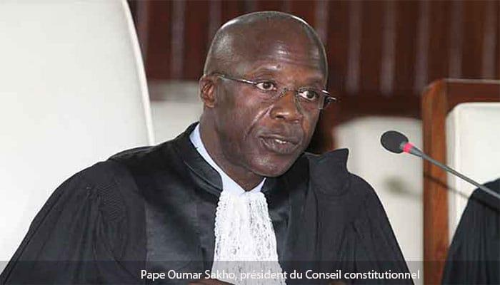 Pape Oumar Sakho, président du Conseil constitutionnel : « Les critiques ? Ça fait mal »