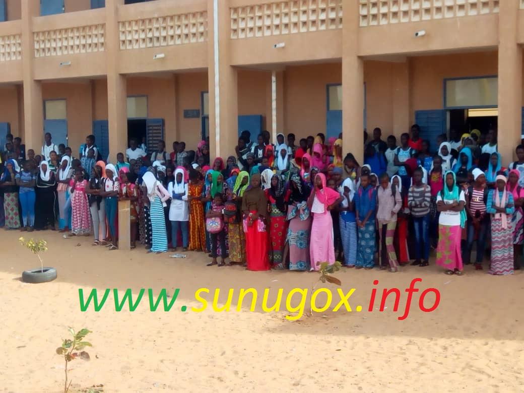 Rufisque/CEM Déni Birame Ndao : Les acteurs de l'école se retrouvent pour booster les performances scolaires.