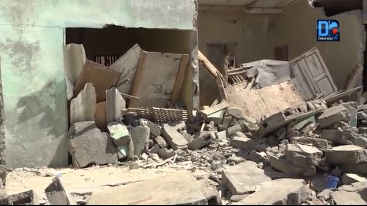 Maison effondrée à Saint-Louis :  Après la mort du vieux Abdoulaye Fall, la fille Ndèye Ma Fall décède