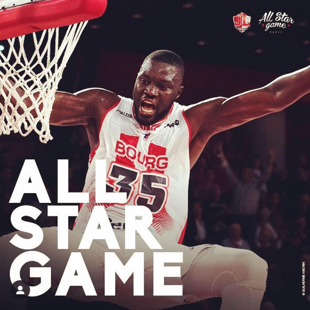 France : Youssou Ndoye sélectionné dans le All Star Game 2018