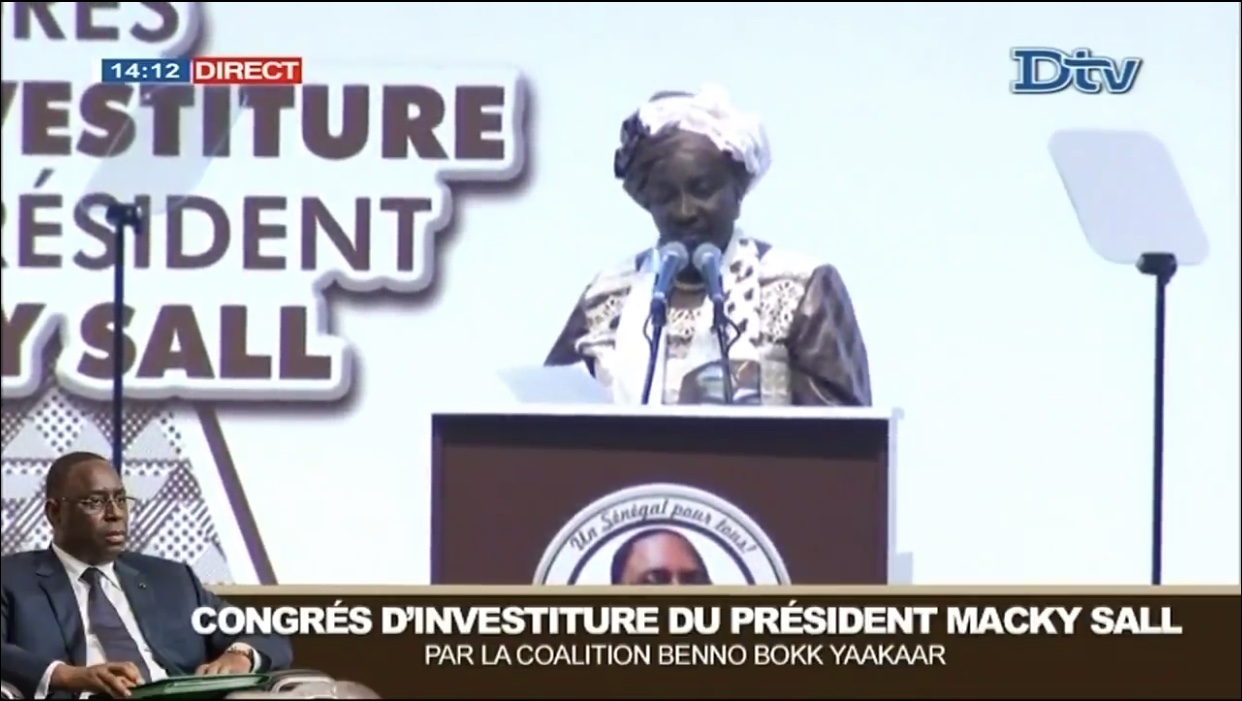 Mimi Touré : « Nous avons dépassé la barre des 2 millions de parrainages dans les 14 régions»