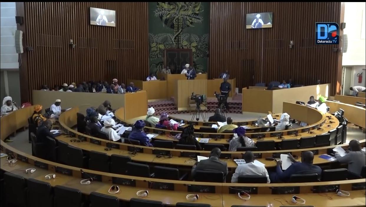 Assemblée Nationale : Projet de budget du ministère de la santé et de l'action sociale