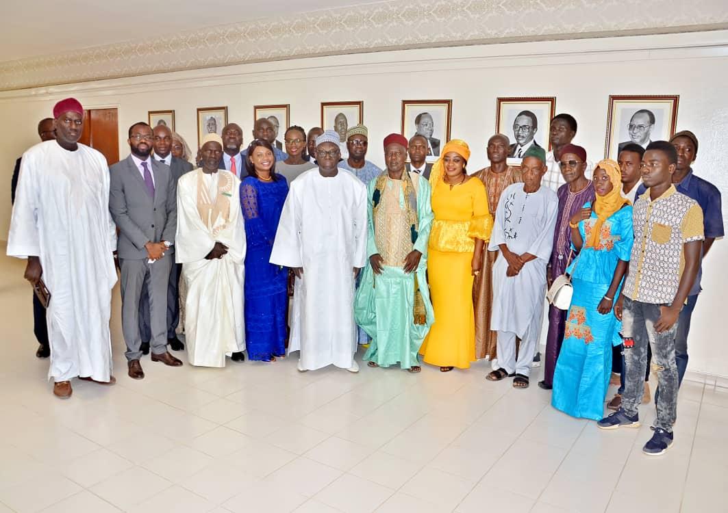 Kaolack : Pape Demba Biteye remet 5.842 parrainages au délégué régional Moustapha Niasse