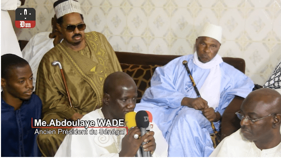 Rappel à Dieu de Sidy Lamine Niasse : Me Abdoulaye Wade présente ses condoléances à Ahmed Khalifa Niasse (LETTRE)