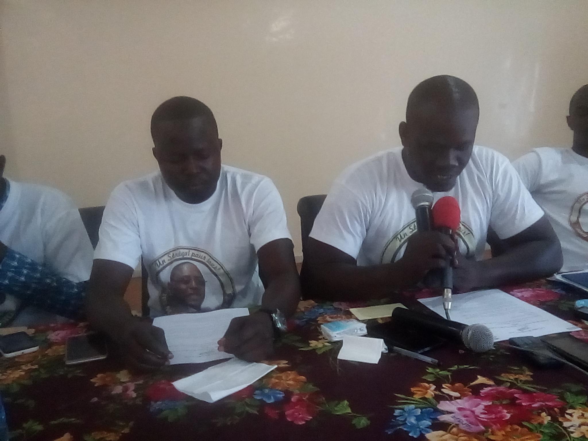 Installation de la coordination des jeunes de Benno bok yakaar de Kolda : leur président Mohamed Kane bénit la transhumance