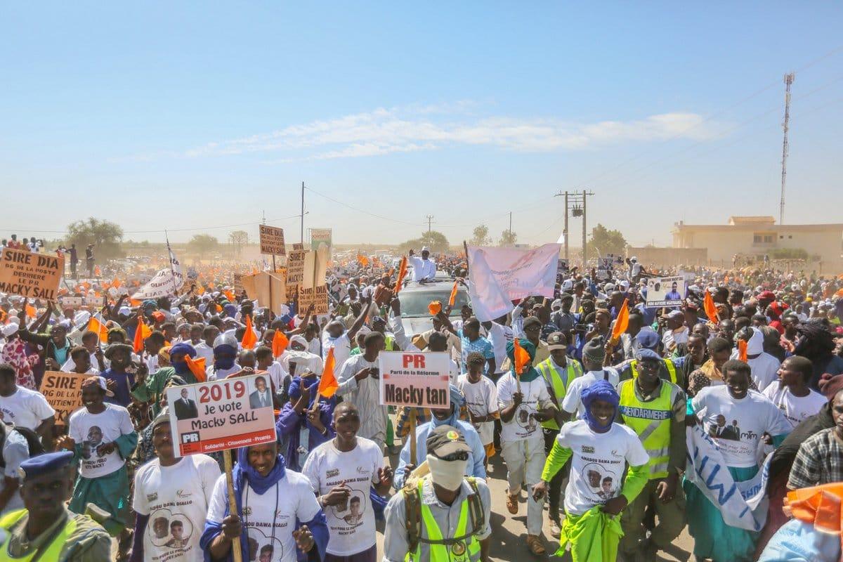 Ranérou : Amadou Dawa Diallo du Parti de la réforme (PR) appelle à voter massivement pour le président Macky Sall