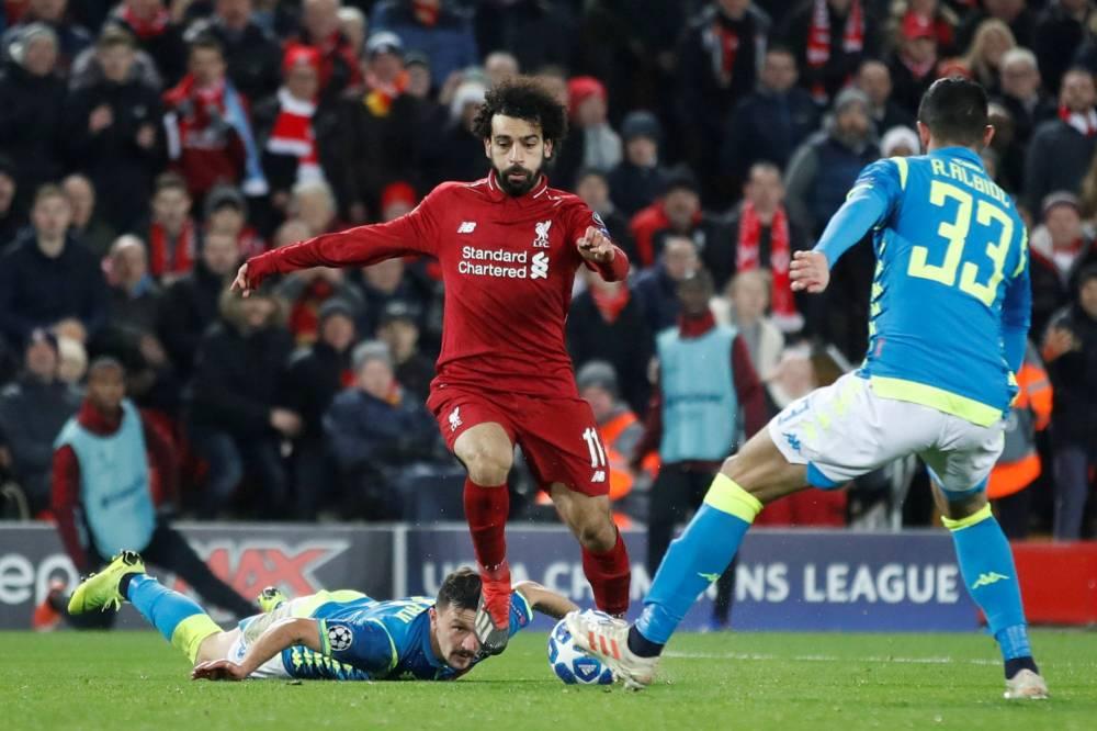 Ligue des champions : Liverpool bat Naples et accompagne le PSG en huitièmes de finale