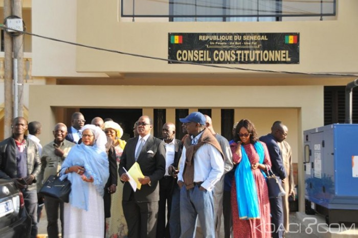Onze dossiers de candidatures déjà déposés au greffe du Conseil constitutionnel