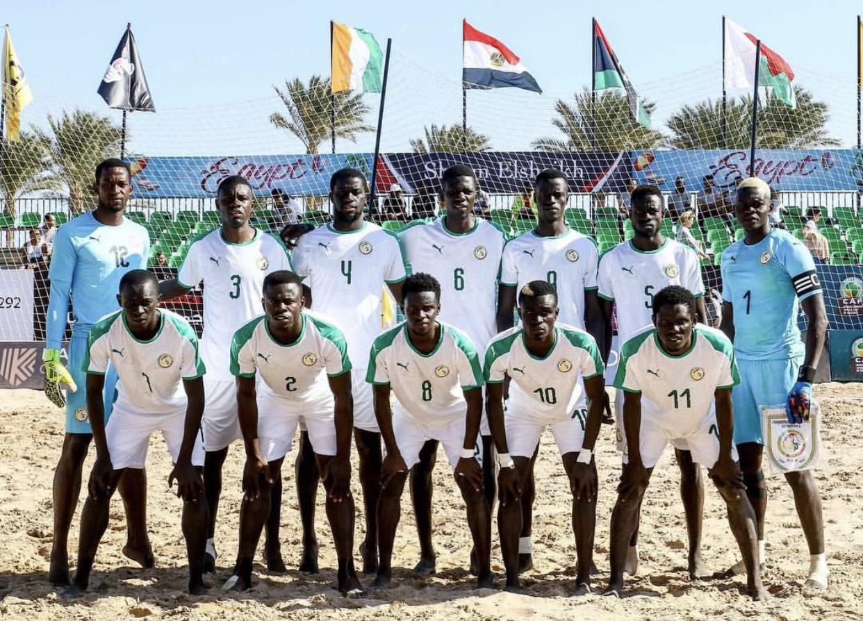 Les Lions en finale de la CAN Beach soccer et au Mondial 2019