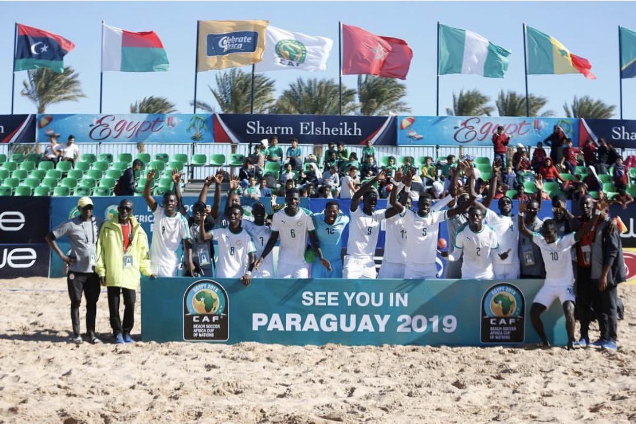 Le Sénégal est champion d'Afrique de la CAN de Beach Soccer 2018
