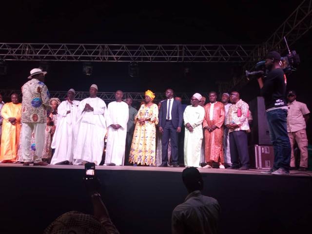 Mega-meeting de Baye Ciss : Mimi Touré rend un vibrant hommage à Moustapha Niasse