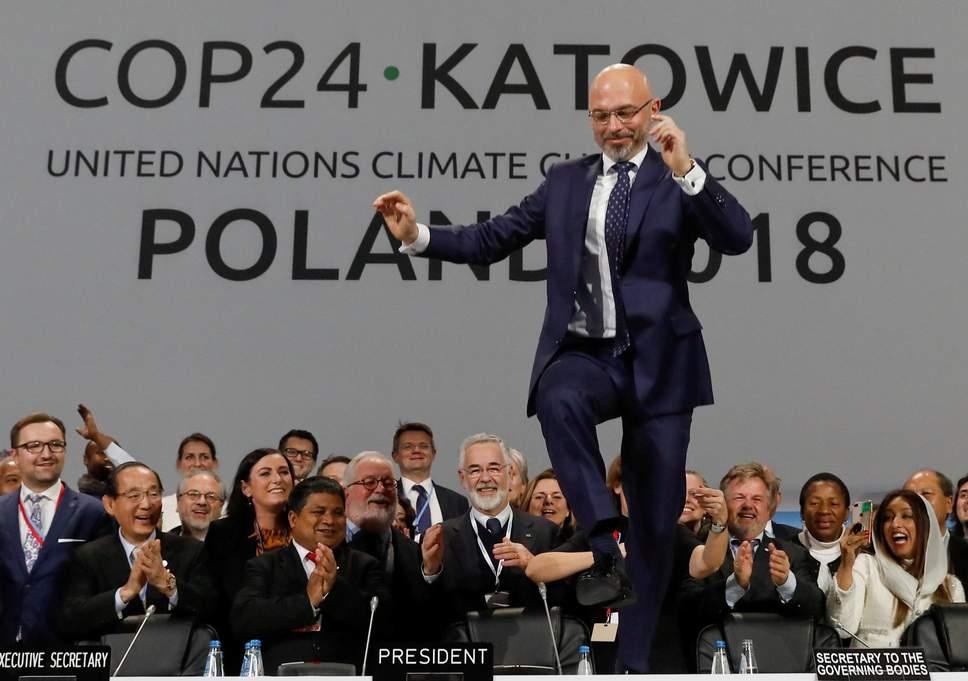 Le président de la COP24, Michal Kurtyka