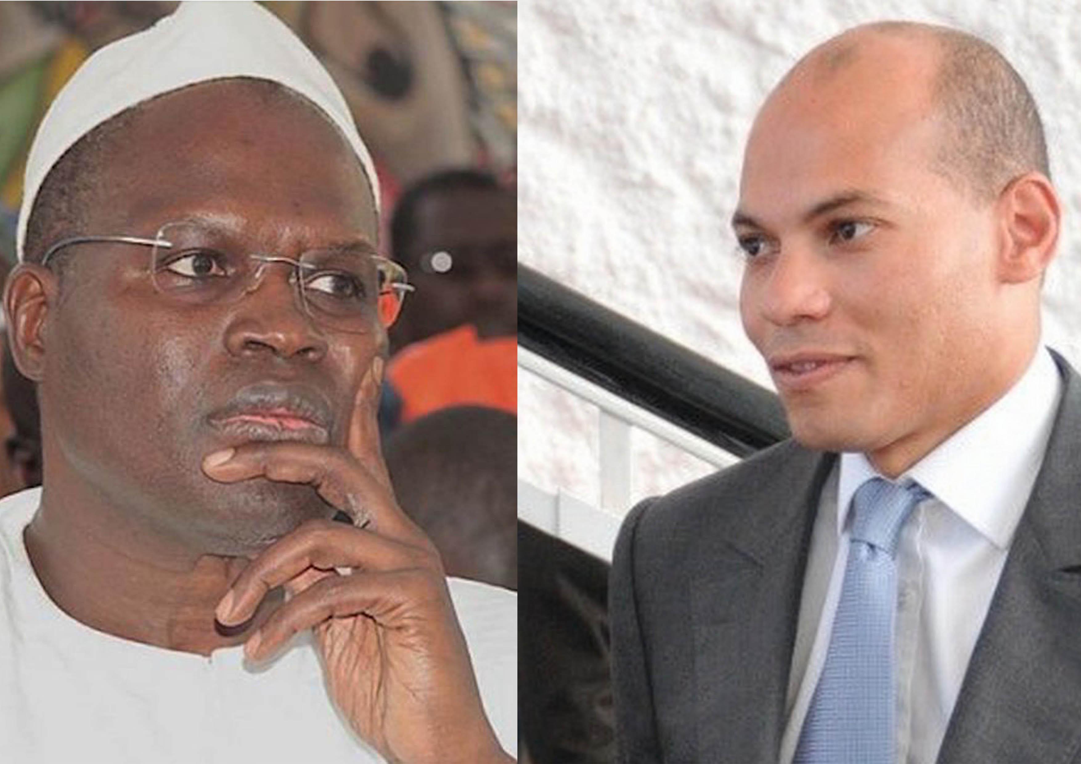 Dépôt des parrainages : Khaf, « le candidat prisonnier » et Wade-fils, « le candidat non inscrit » à l'assaut du Conseil Constitutionnel