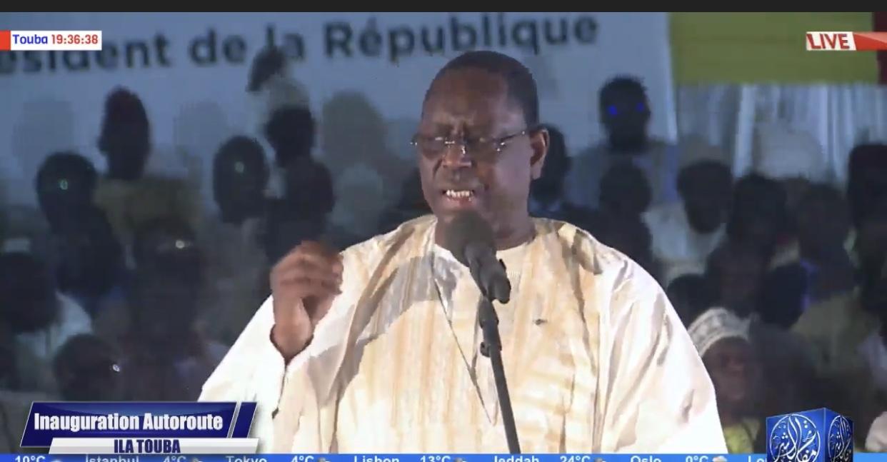 ILA'A TOUBA INAUGURÉE - La marche politiquement cadencée d'un Président candidat à une Présidentielle qui a réussi à mobiliser religieux et politiques...