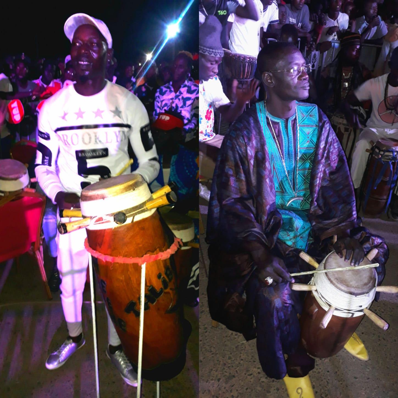 Face-to-face BG2/XLO : Les deux tambours majors Adama Ngom et Moussé Yacine Mbaye rivalisent