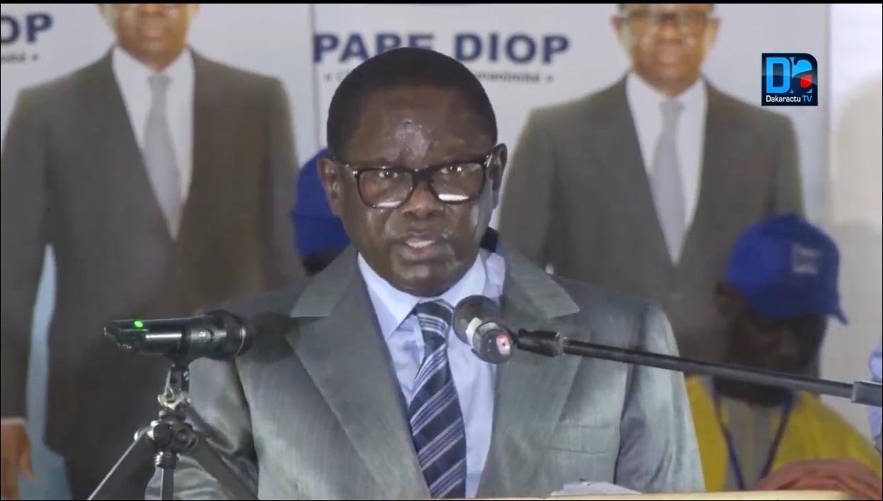 15.000 de ses parrainages rejetés par le Conseil constitutionnel, Pape Diop se rebelle