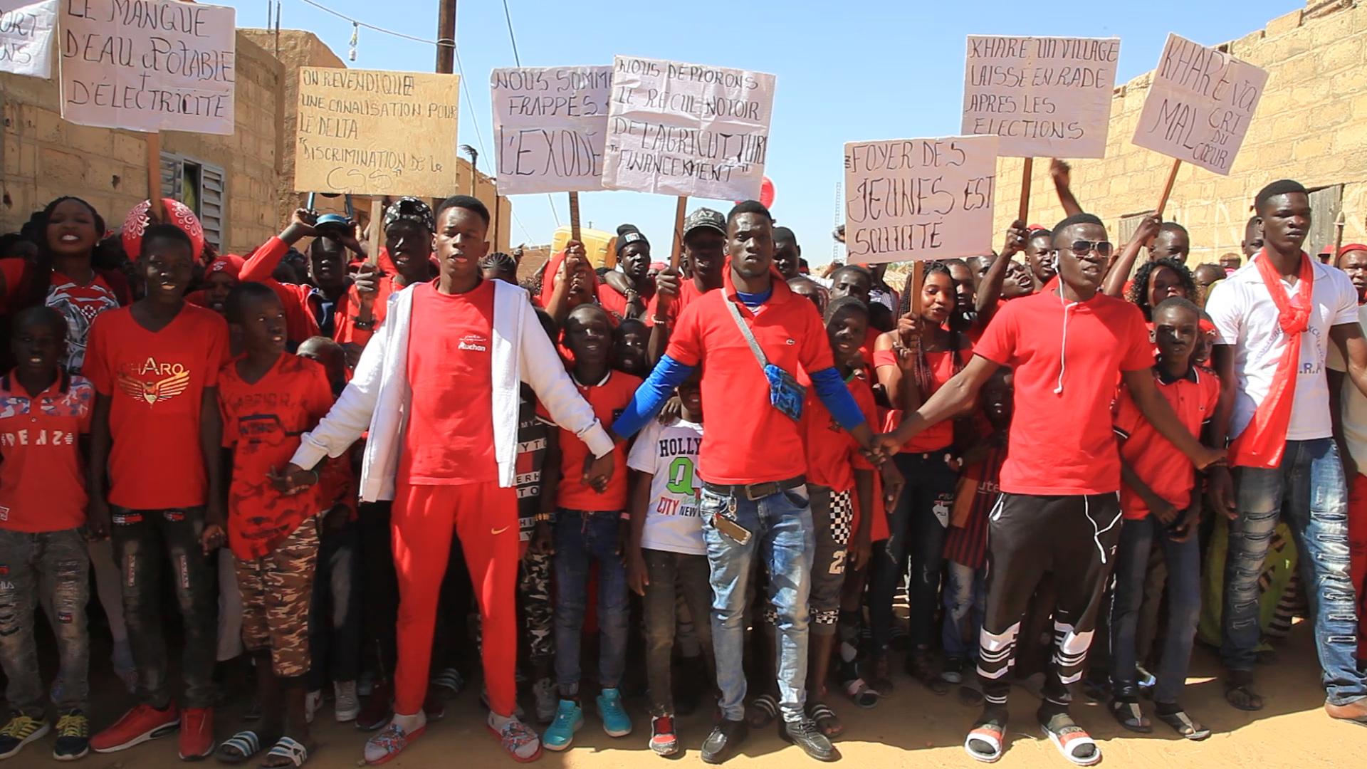 Village de Kharé dans le Walo : Les populations ont marché pour dénoncer les difficiles conditions d'existence dans leur localité