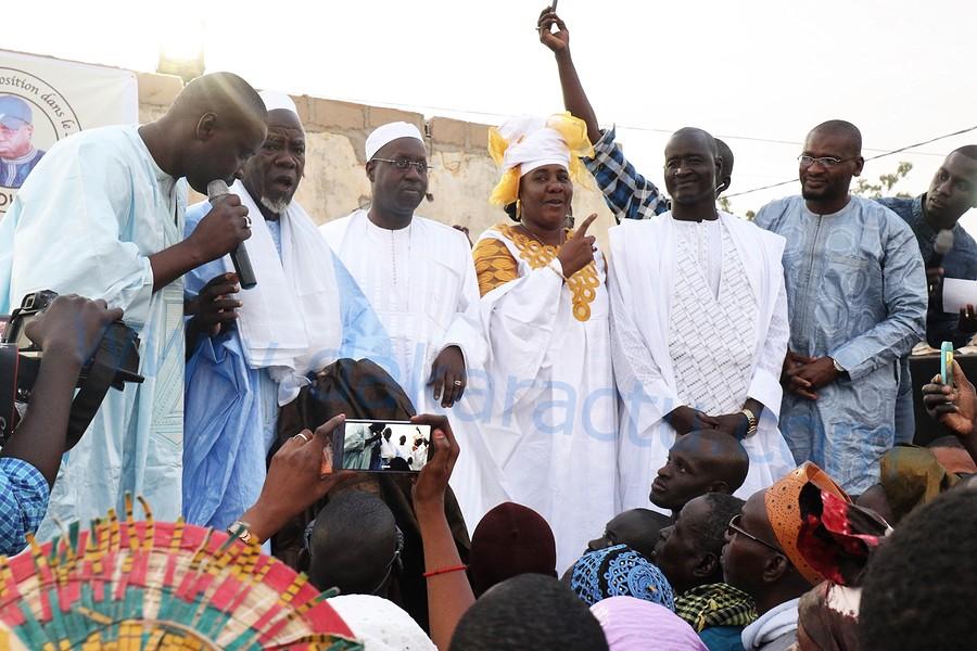 Matam / Les images de la clôture de la tournée de Orkadiéré : Abdou Karim Sall sillonne les 20 villages de la commune et promet l'électorat à Macky Sall