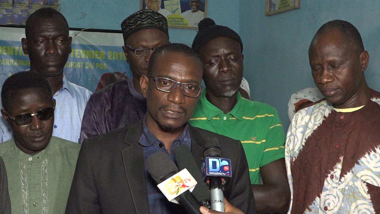 """Saint-Louis / La fédération départementale du Pds récuse Braya : """" Ni Me Abdoulaye Wade, ni Karim Wade, n'aurait donné son onction à Ameth Fall Braya. Ses affirmations n'engagent pas le parti, encore moins le candidat Karim Wade"""""""