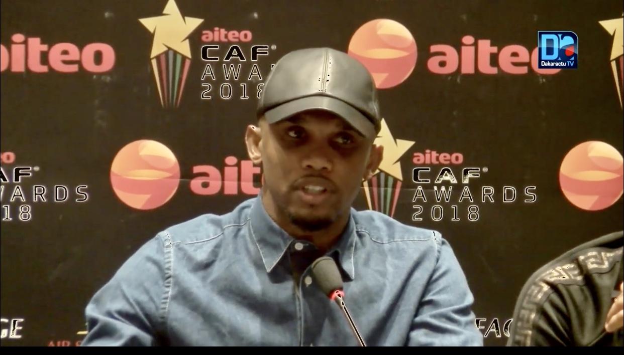 Samuel Eto'o parlant de l'équipe nationale du Sénégal : «Il faut que les autres joueurs acceptent que Sadio Mané soit leur leader!»