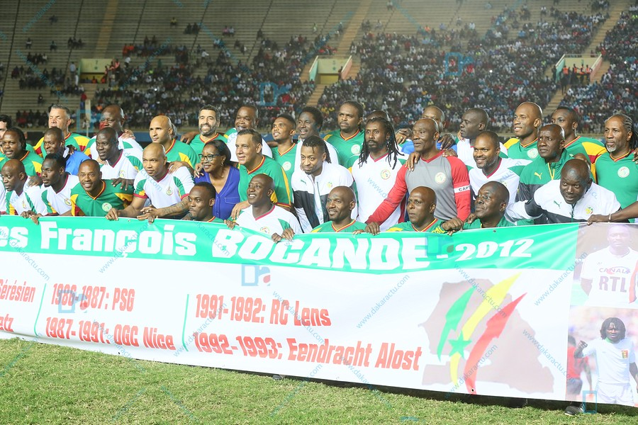 CAF Awards 2018 / Les images du match de gala entre des légendes du football africain au stade Léopold Sédar Senghor