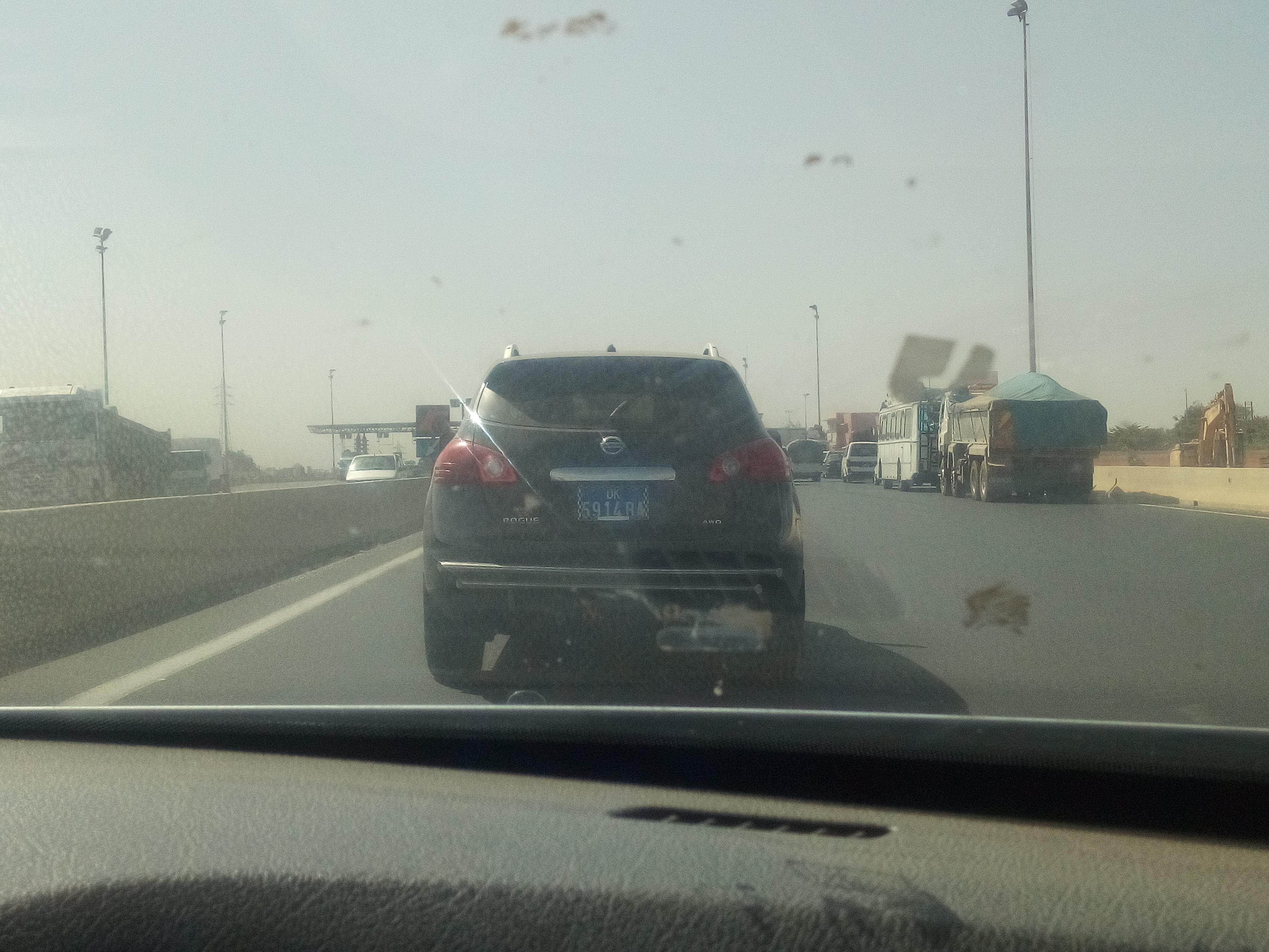 Autoroute à péage : Un chauffard a failli créer un grave accident.