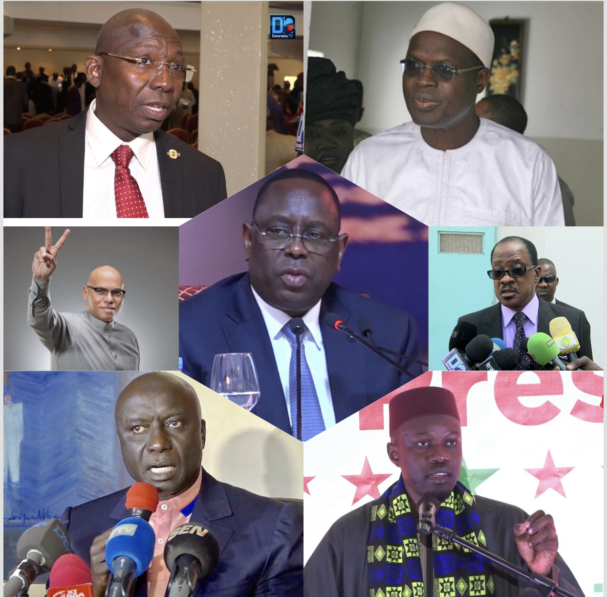 Présidentielle 2019 : 07 candidats ont relevé le défi du parrainage
