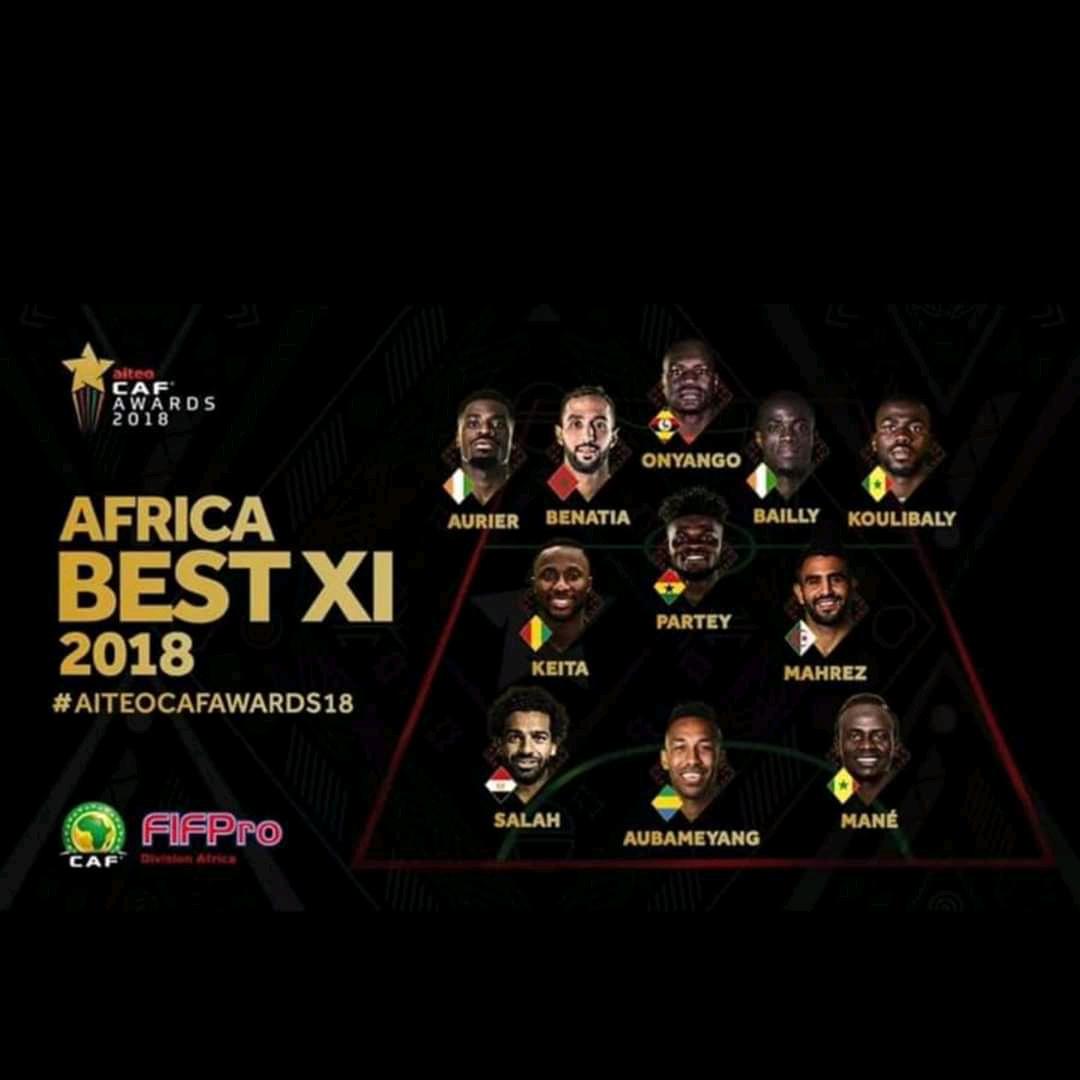 CAF Awards 2018 - Kalidou Koulibaly et Sadio Mané dans le Onze Type, Gana Guèye zappé