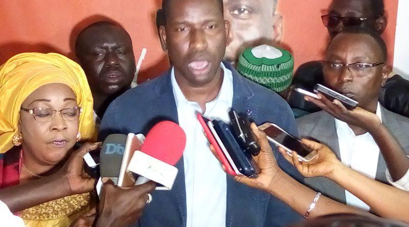 Point de Presse du Grand Parti : « Aliou Sall n'est pas un homme sérieux… » (Amath Krouma)