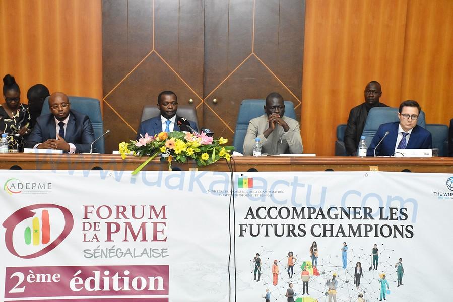 ADPME /Les images de la 2e édition du forum de la PME sénégalaise au King Fahd palace présidée par le ministre du commerce, de la consommation, du secteur informel et des PME