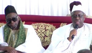 Ziarra annuelle du vénéré Thierno Mountaga Daha Tall : Le président Macky Sall sollicite les prières du Khalife Thierno Mouhamadou Bachir Tall